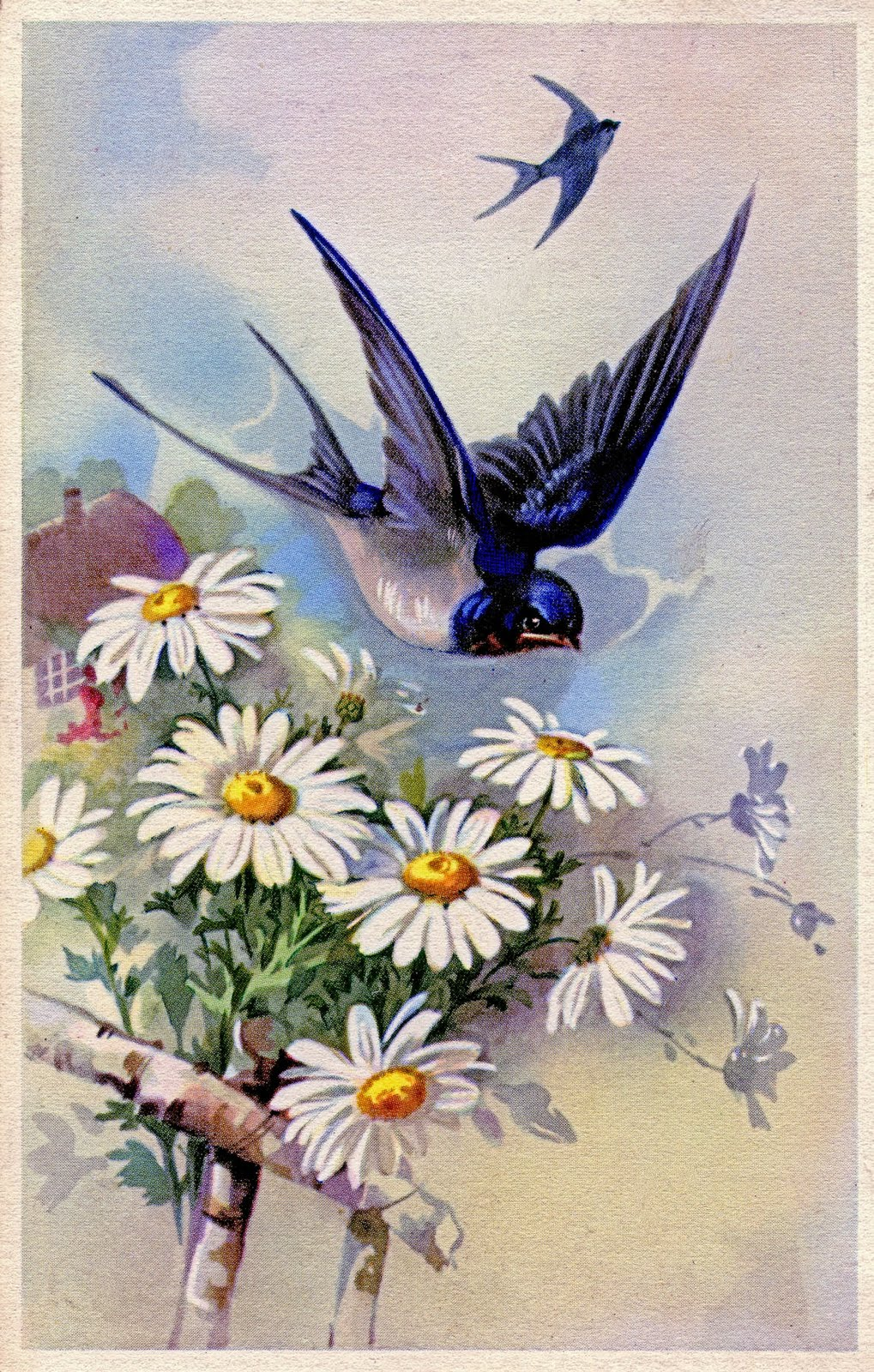 vintage spring clip art - photo #19