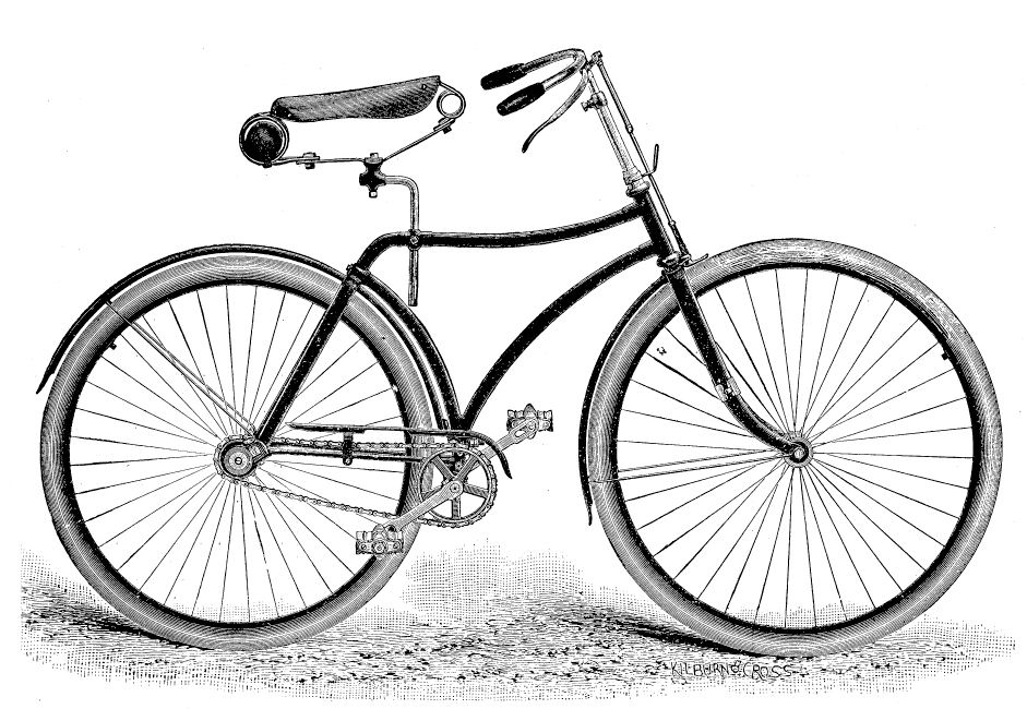 Cheap old fashioned bikes 86