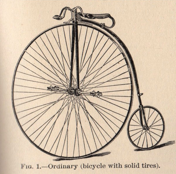 Free Clip Art Old Fashioned Bicycle The Graphics Fairy