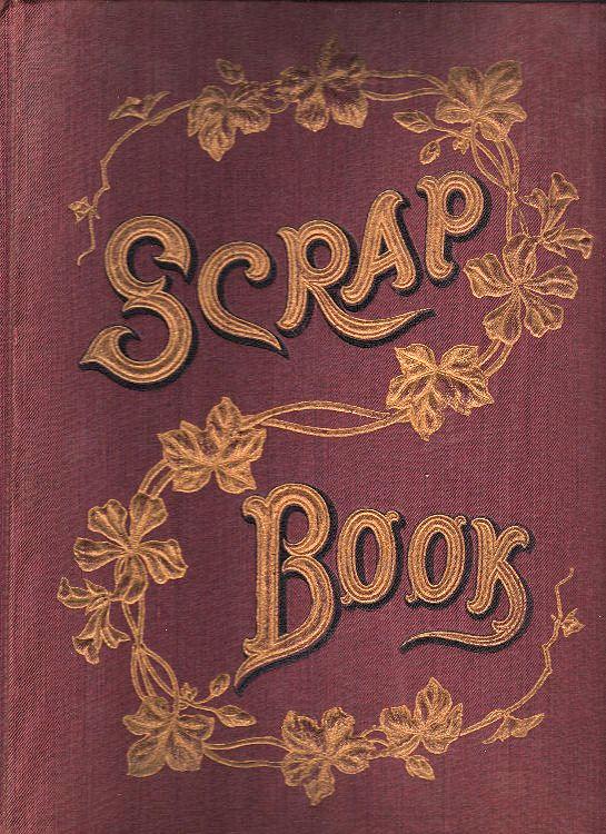 Old Fashioned Book Cover Clipart : Victorian clip art scrap book cover the graphics fairy