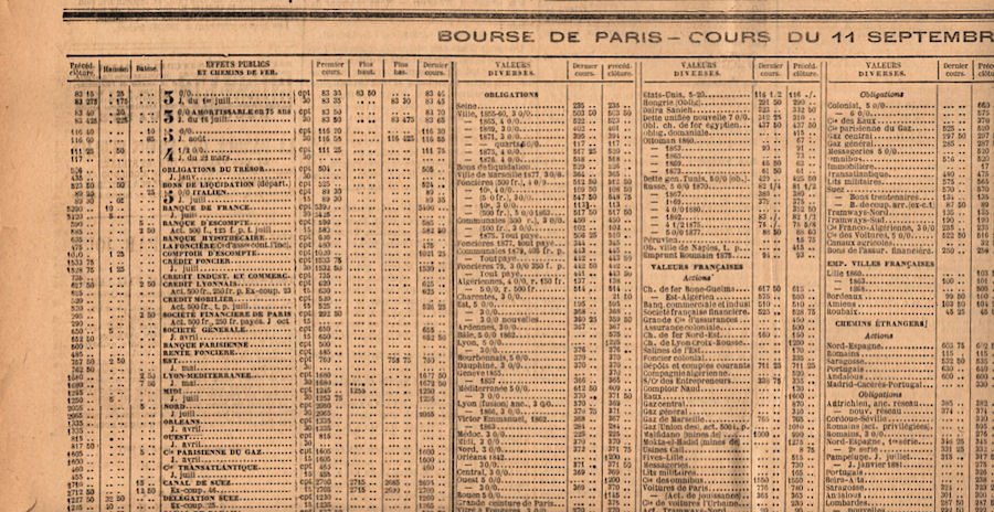 Free Clip Art - Antique French Newspaper - The Graphics Fairy