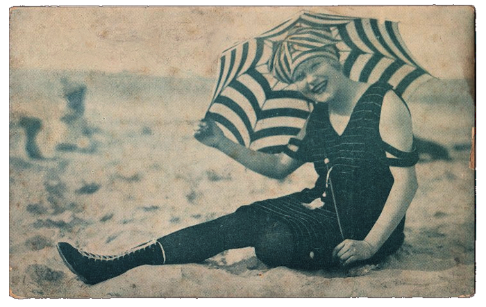 Vintage Bathing Beauty The Graphics Fairy