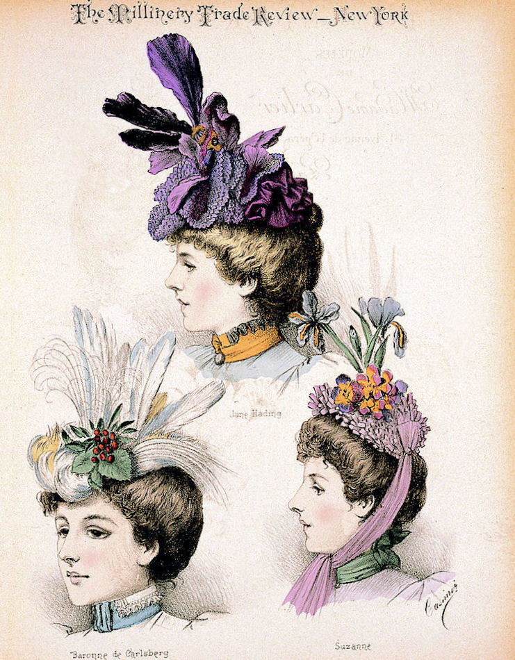 ladies victorian hats - photo #17