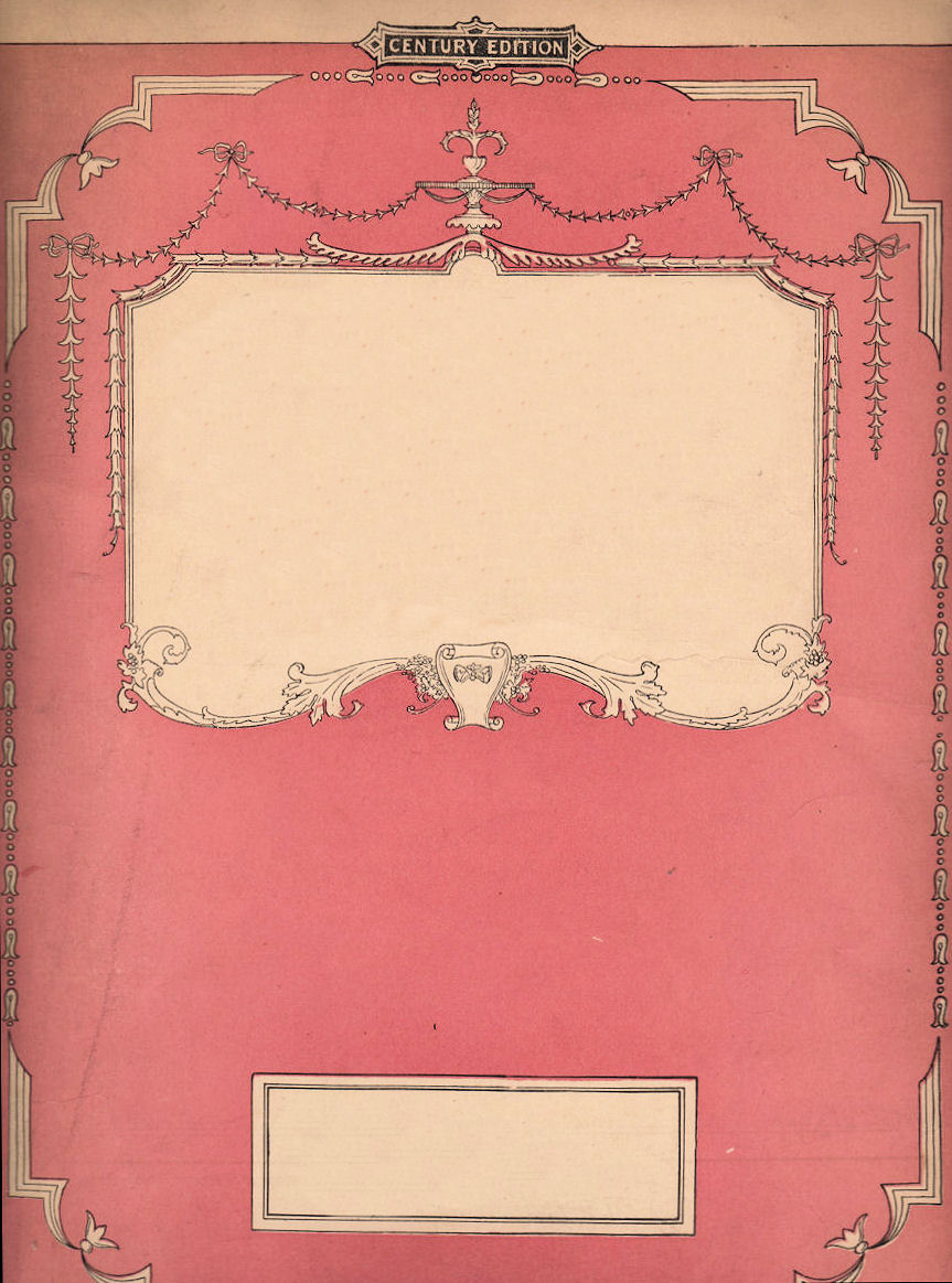 Free Vintage Book Cover Template ~ Free vintage clip art pink sheet music the graphics fairy
