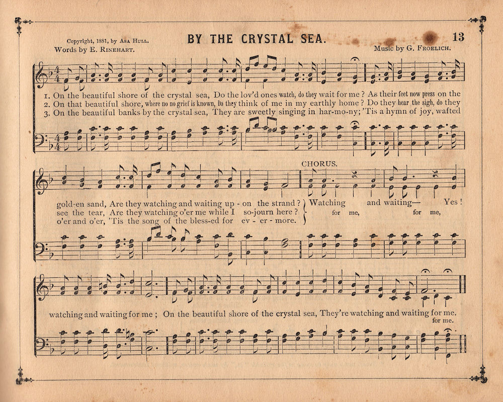 Antique Sheet Music Wallpaper Page of Old Sheet Music