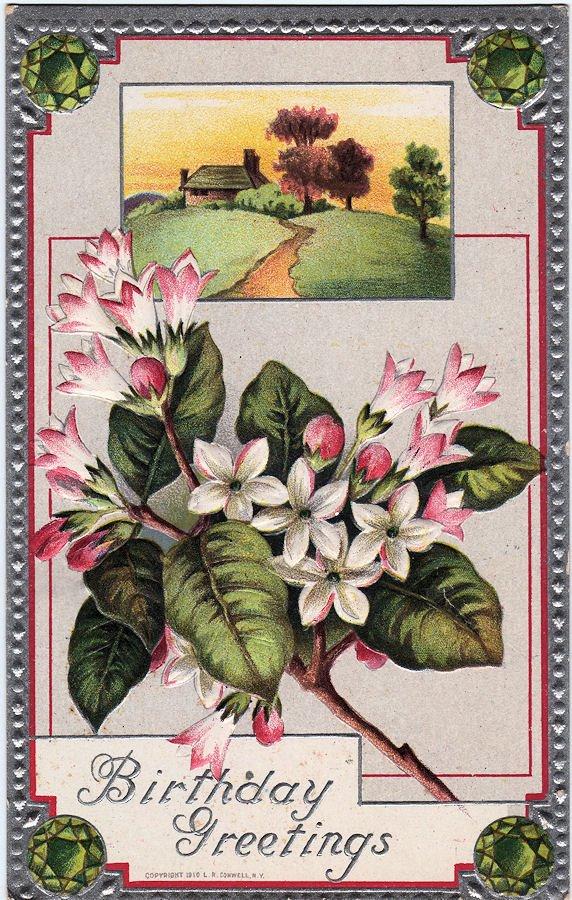 free victorian birthday clip art - photo #18