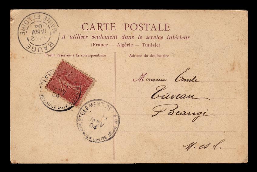 Carte postale érotique vintage