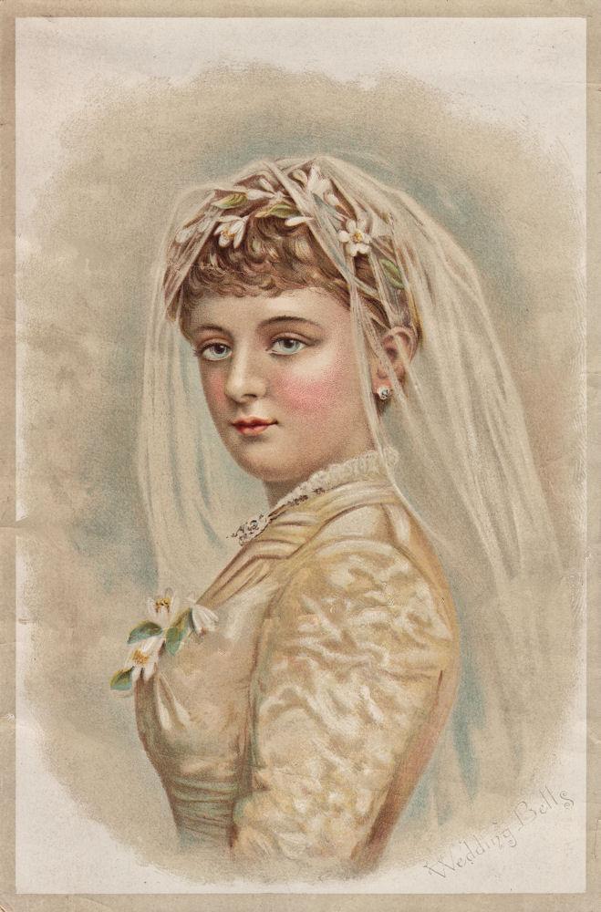 Free Victorian Clip Art Beautiful Bride The Graphics Fairy