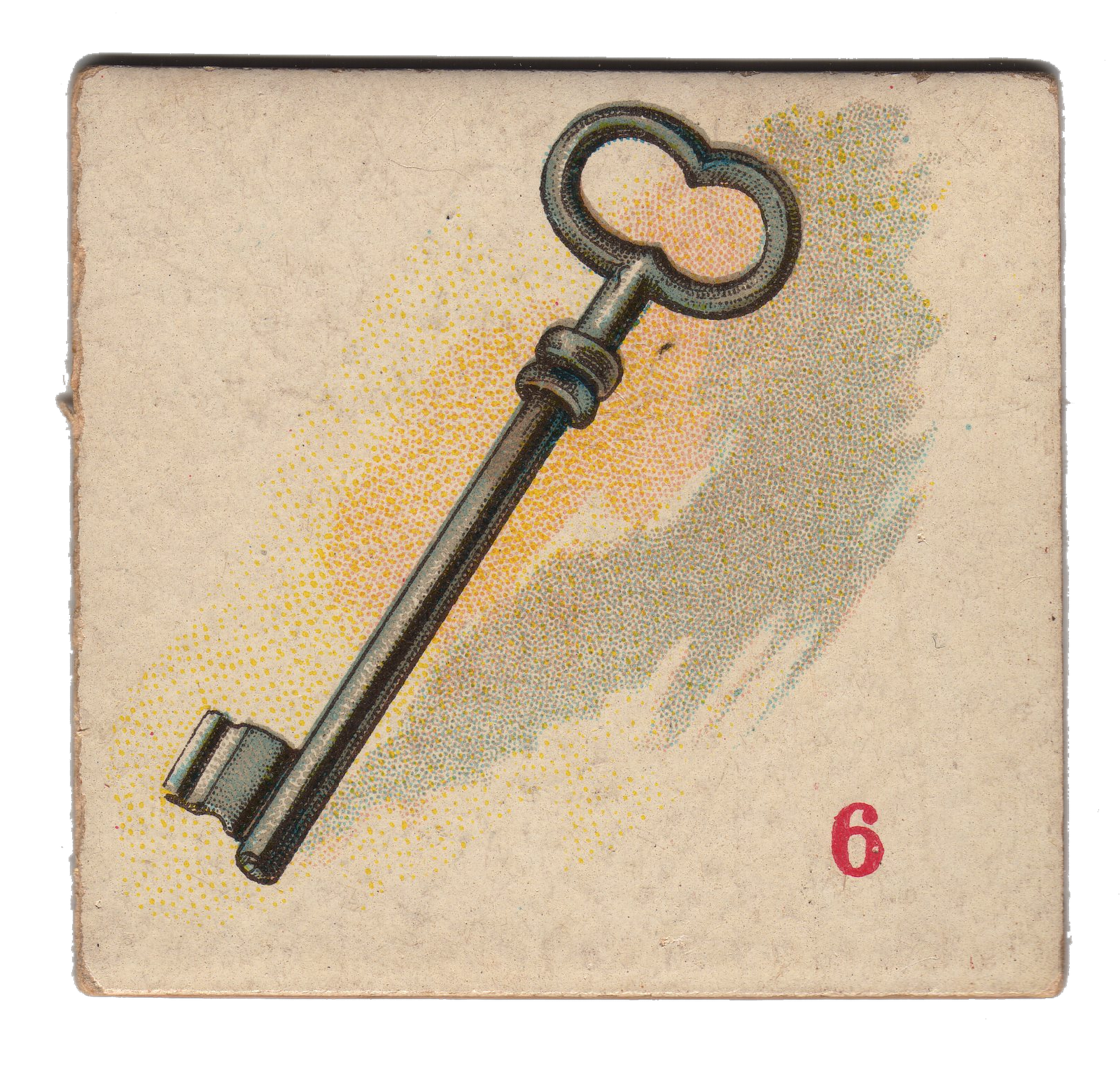 Free Vintage Clip Art - Skeleton Key - The Graphics Fairy