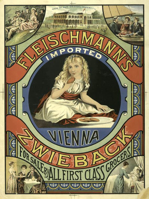 Free Victorian Clip Art Advertising With Pretty Girl