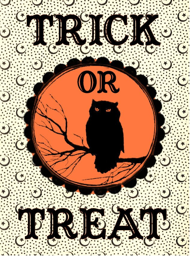 This is an image of Lucrative Vintage Halloween Printable