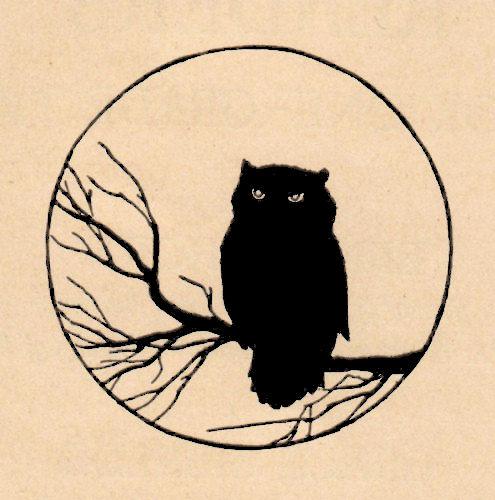 halloween owl   pumpkins the graphics fairy owl clip art silhouette owl clip art
