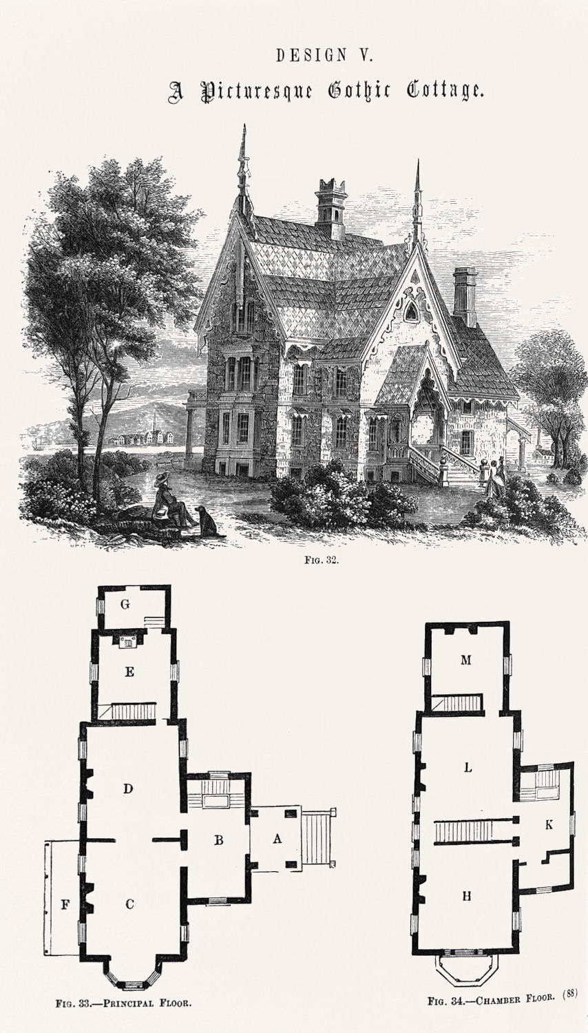 Free clip art hooked on victorian architecture the for Old victorian house plans