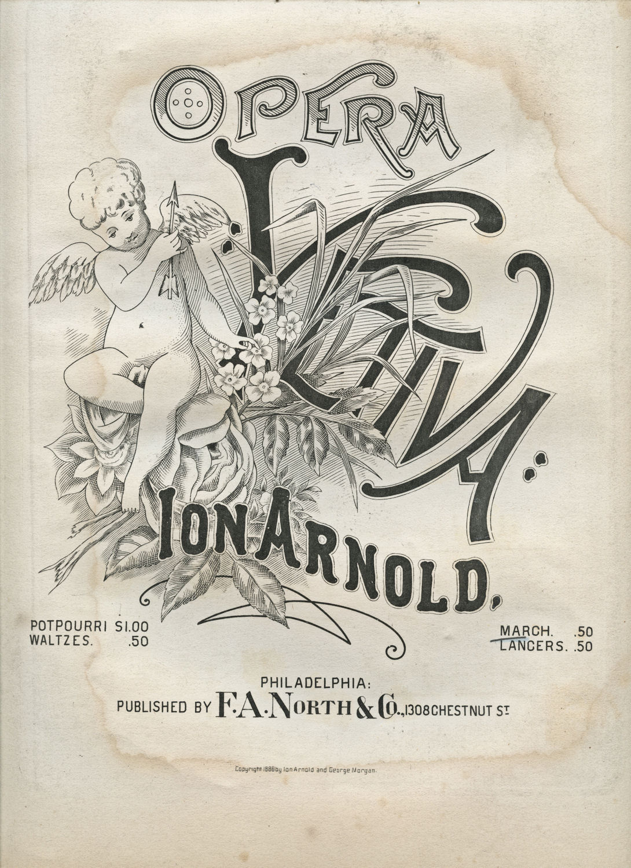 Free Vintage Clip Art - Cherub Sheet Music - Opera - The Graphics ...