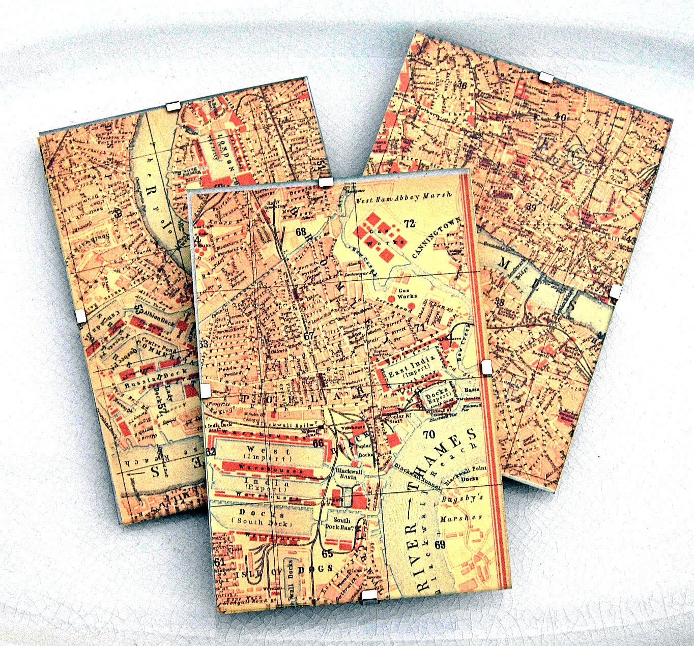 Craft Project - London Map Decor - DIY - The Graphics Fairy