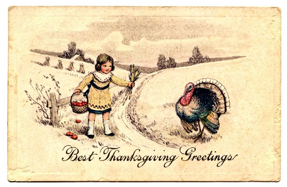 Roses In Garden: Free Thanksgiving Clip Art