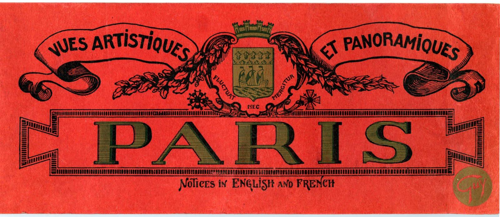 Free Vintage Clip Art - Paris Label