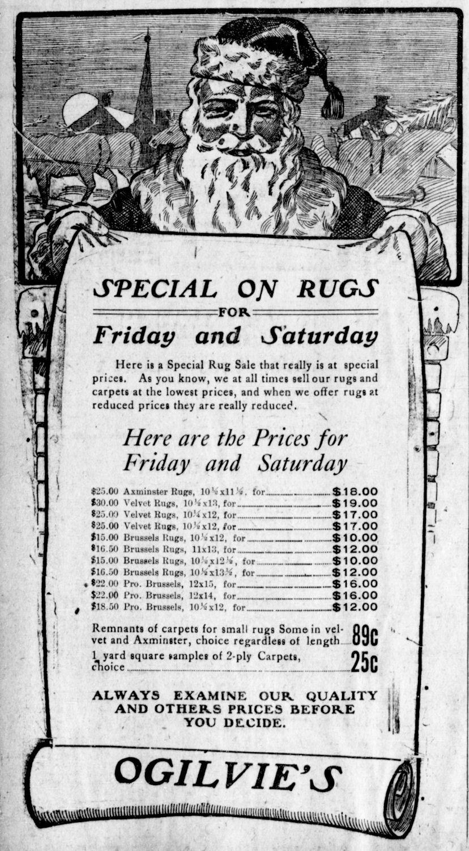 Free Vintage Clip Art - Victorian Santa Sign Holder - The Graphics ...