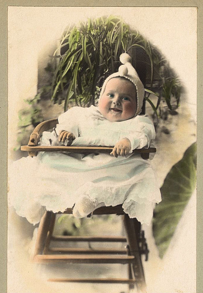 Free Vintage Clip Art - Old Pictures - Funny Babies - The ...