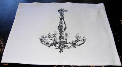 Finished Chandelier Placemat