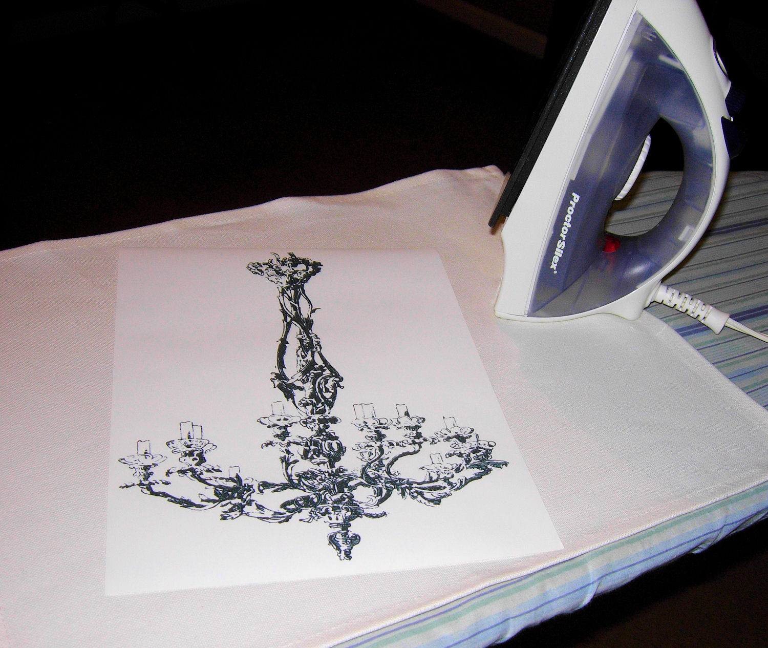 how to make your own iron on transfer paper