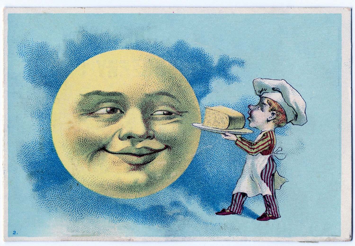man in the moon clipart - photo #33