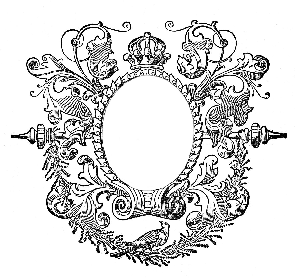 engraved frame