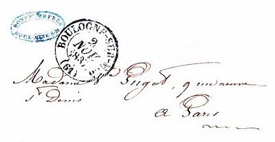 paris ephemera letter image