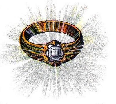 vintage clip art diamond ring