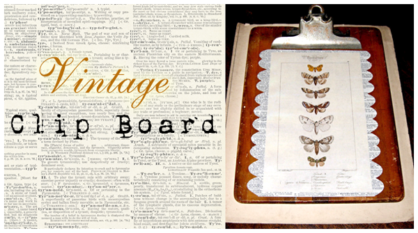 Crafty Project Decorative Natural History Clipboard