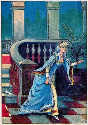 vintage fairy tale clip art cinderella part 2 the