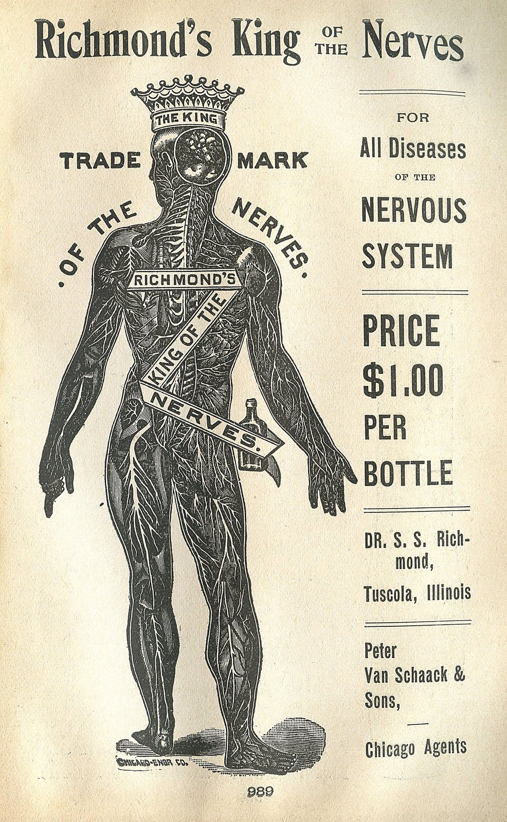 Strange Medical Advertising Image - King of the Nerves - The ...