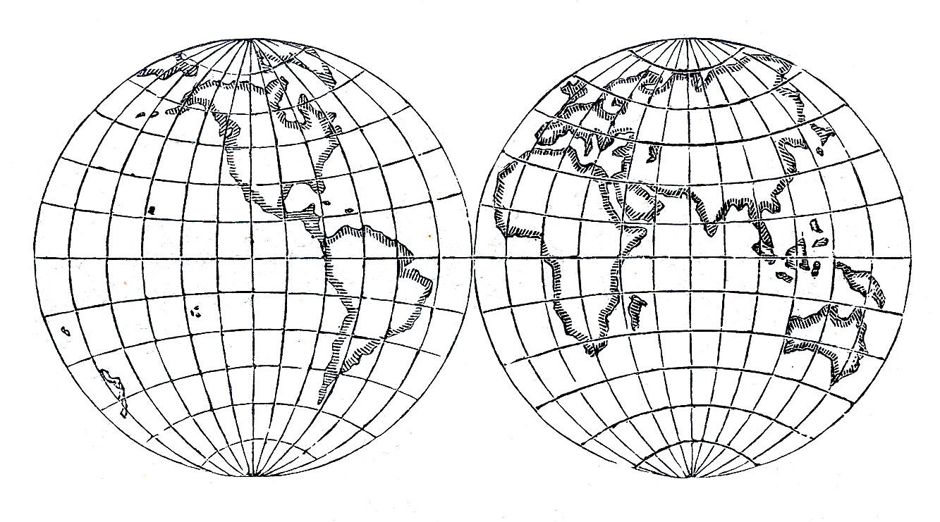 Vintage Globe Line Drawing : Vintage clip art globes earth steampunk the