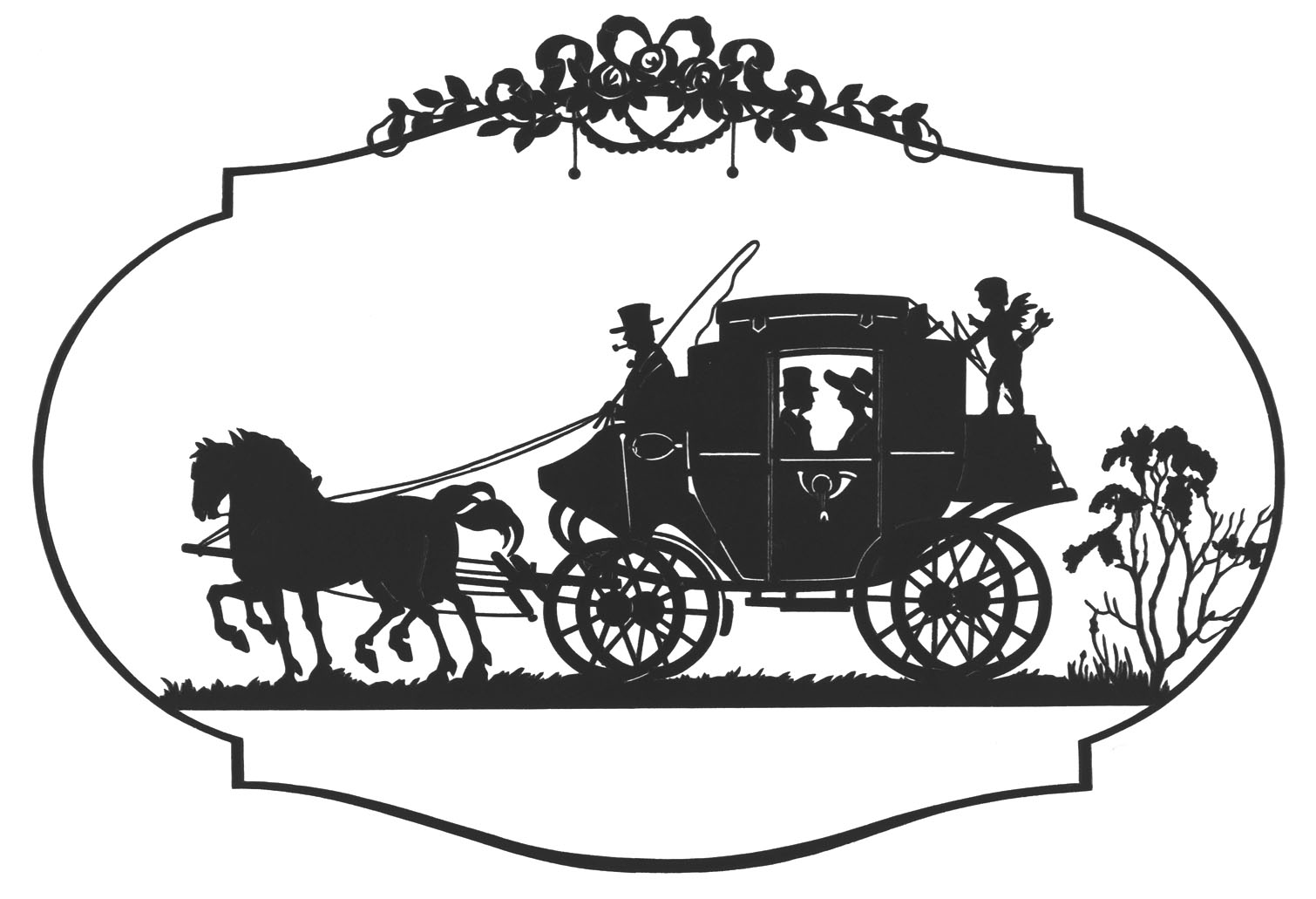 Old Fashioned Case File Clipart