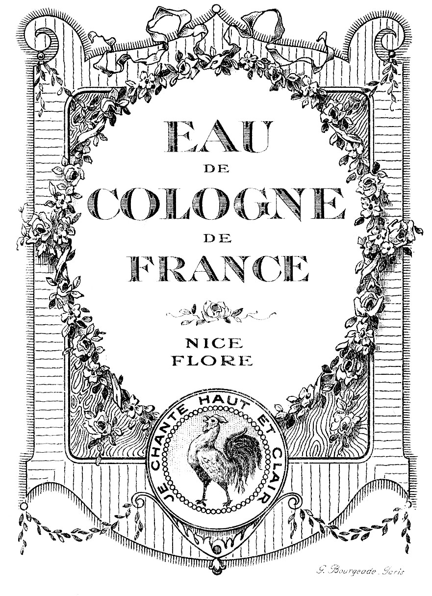 Vintage Graphic Images - Lovely French Cologne Labels ...