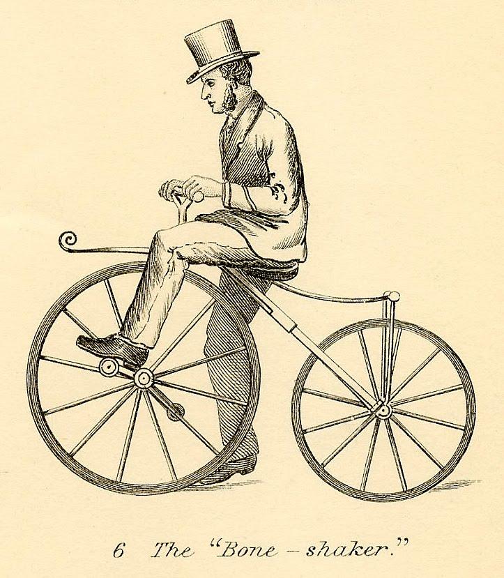 Vintage Bicycle Clip Art 32