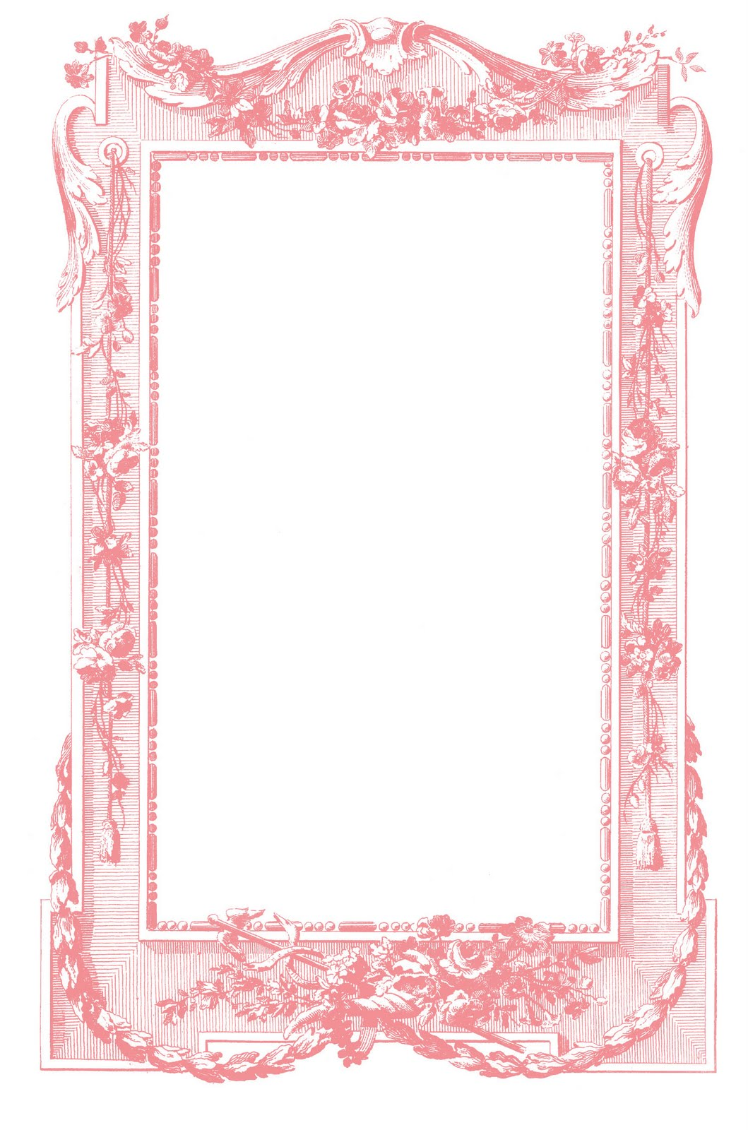 Antique Images - Fabulous French Graphic Frames - The ...