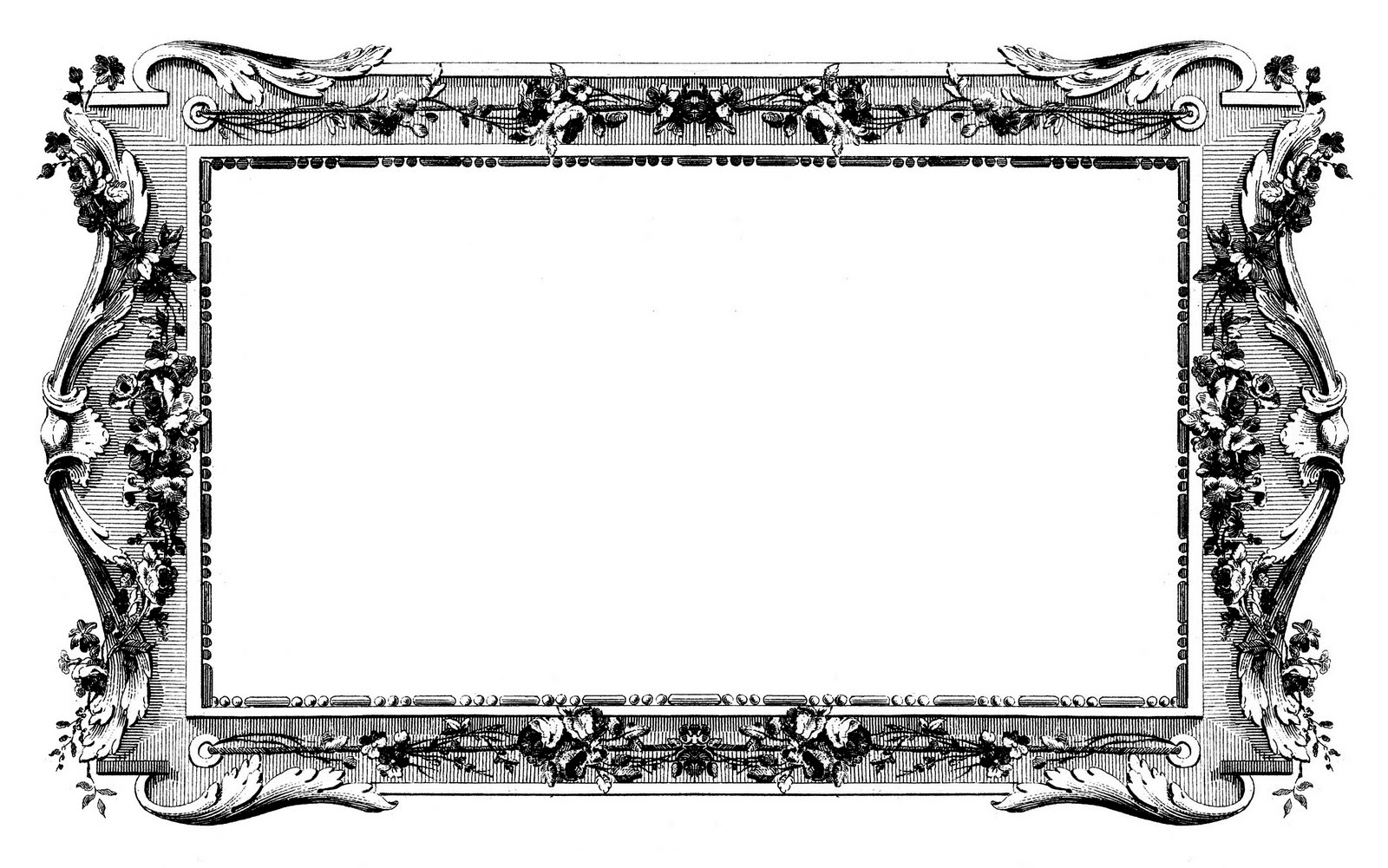 Ordinary Antique Picture Frames Part - 14: Antique Images U2013 Fabulous French Graphic Frames