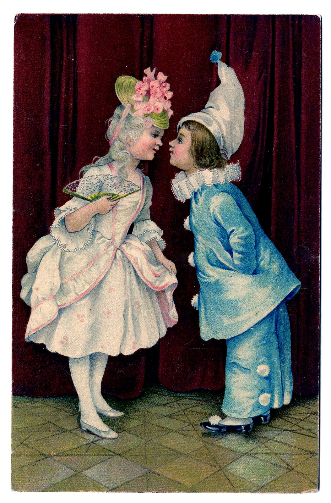Mothers Day Clip Art Vintage Valentine's Da...